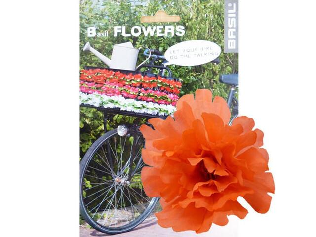 Basil Flower Peony für Lenker und Rahmen Tangerine